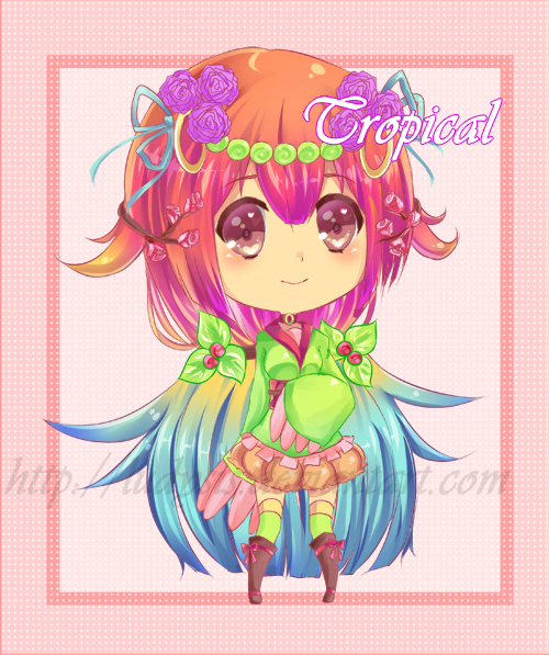 Tropical Adoptable Auction by Ludysis