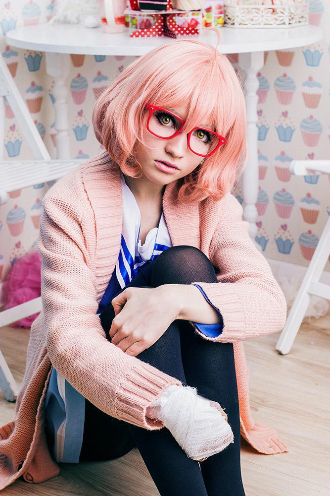 Mirai Kuriyama - Kyoukai no Kanata cosplay by Agi-Wanijima ...