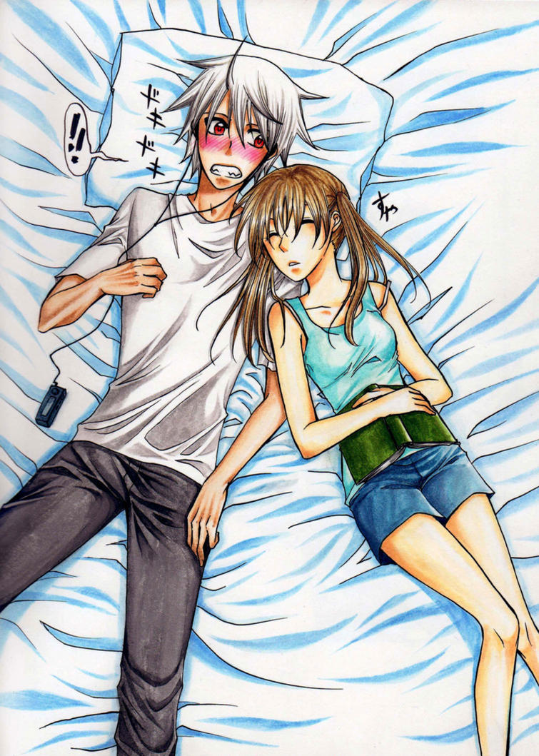 Afternoon Nap by nayght-tsuki