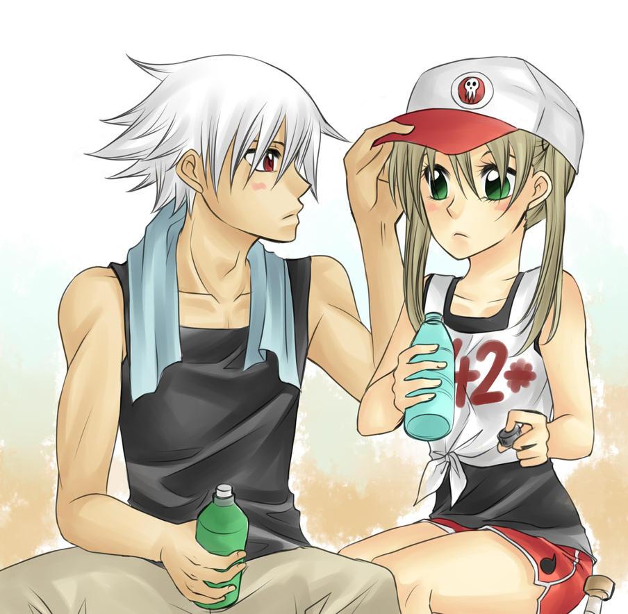 Baseball AU for Tri-chan! by nayght-tsuki