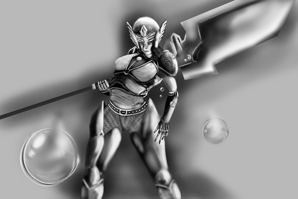 Warrior 3 by kalitarq