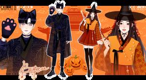 Halloween Adopt Idols series 2  [CLOSE]