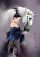 intelligential horse by zhanglu
