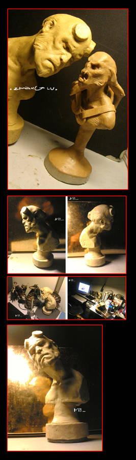 sculpture______HELLBOY
