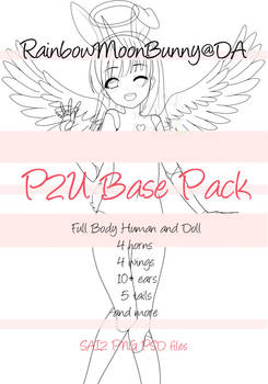 P2U Base Pack (Doll and Human) MORE ADDED