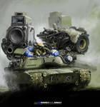 Heavy stereo tank