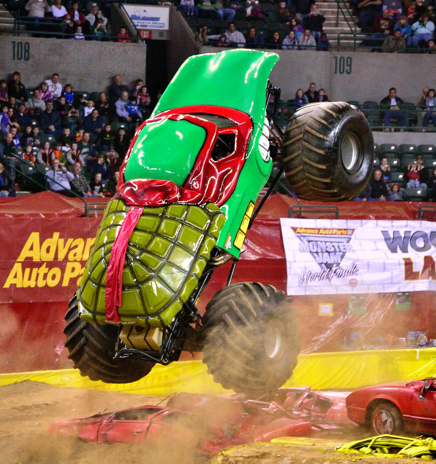 TMNT Monster Truck by Noble-Kenshi