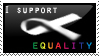 I Support Equality by LiamJohansen