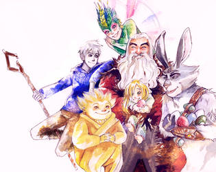 rise of the guardians by vishe