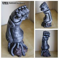 FMA Automail Sculpture by matrgarr