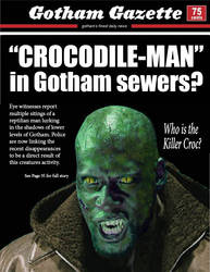Waylon Jones (Killer Croc) by matrgarr