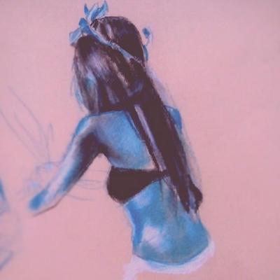 Blue Girl by javier147