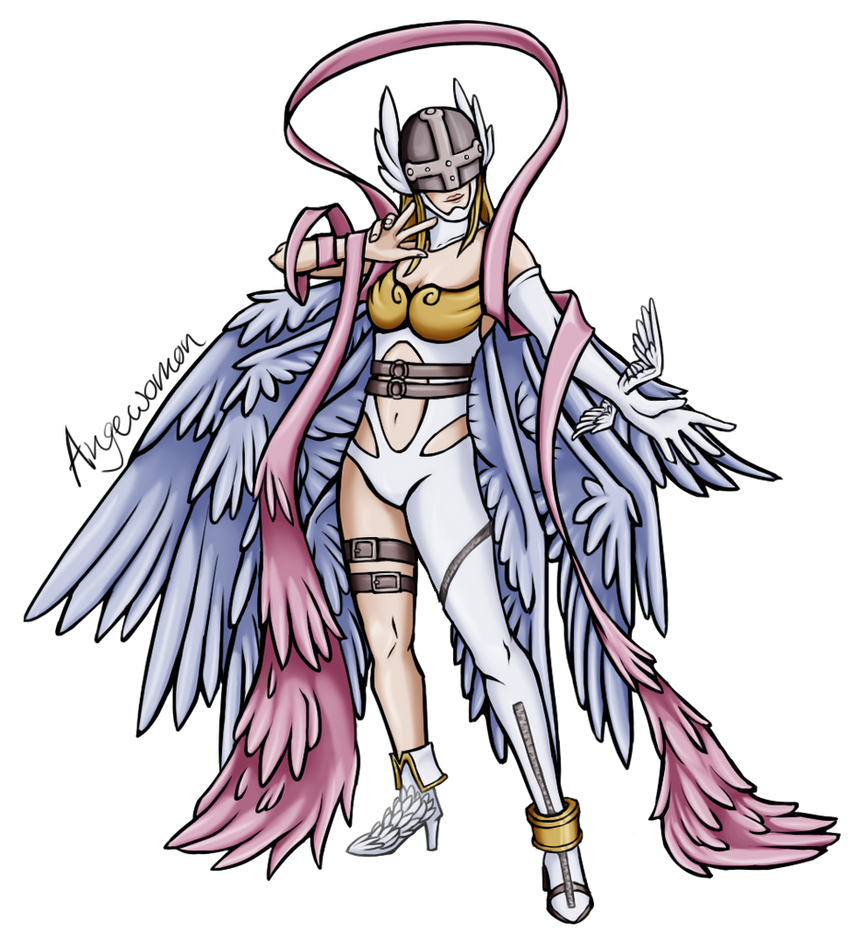 Angewomon by Brittlebear