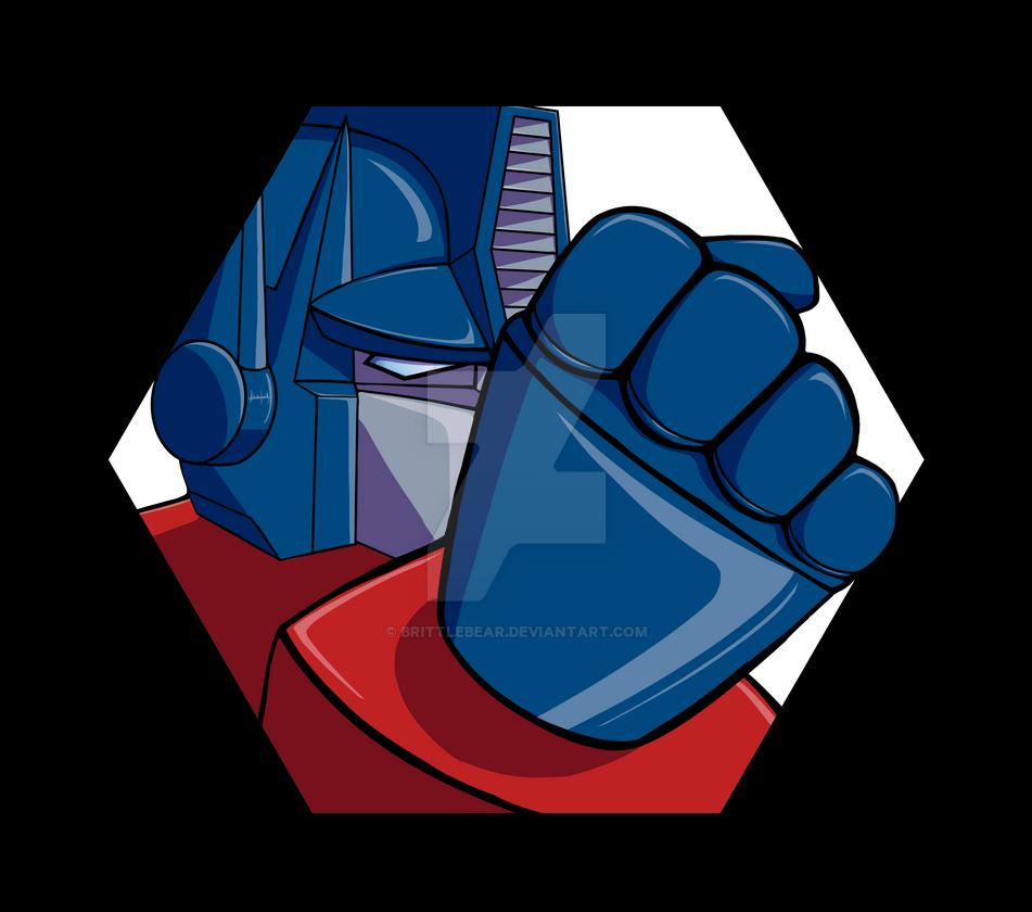 Optimus Logo by Brittlebear