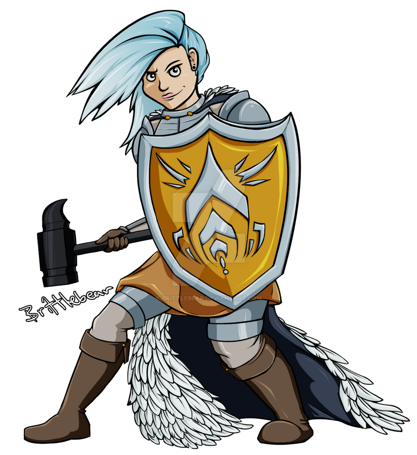 Female Paladin by Brittlebear