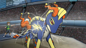 Mega Electruxo use Thunder! by Brittlebear