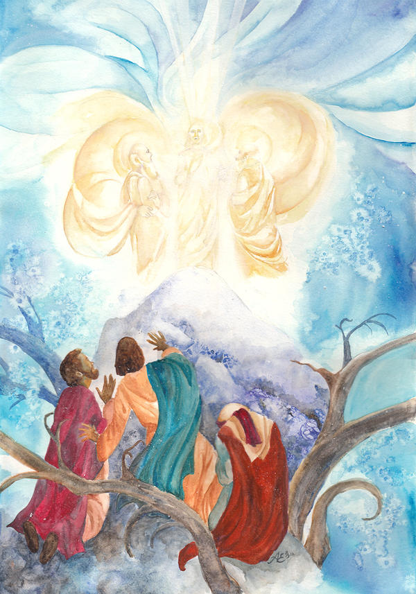The Transfiguration of Our Lord by agianna on DeviantArt