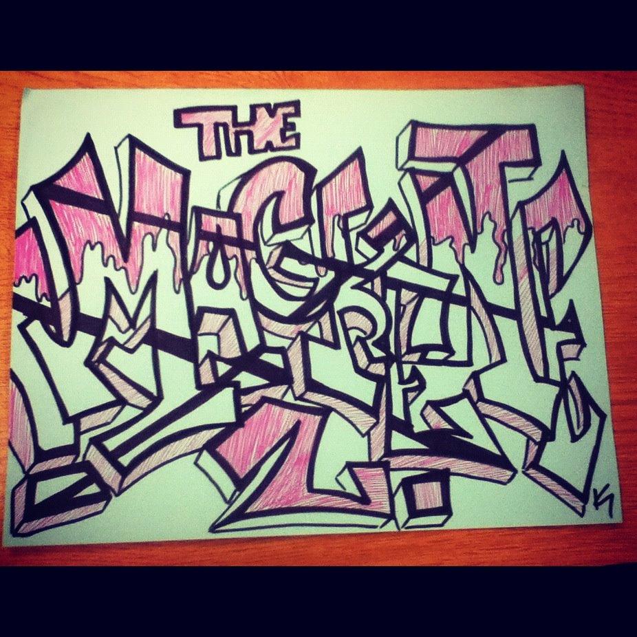 Mackenzie L Graffiti Calligraphy By Katcantdance On