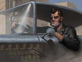 Highwayman by EgorMotygin