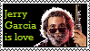 Jerry Garcia Is Love by Sour-Sauce-Stamps