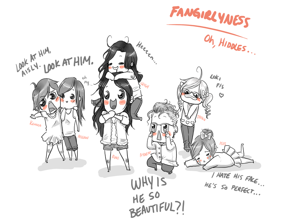 Loki Fangirlyness by Samoubica