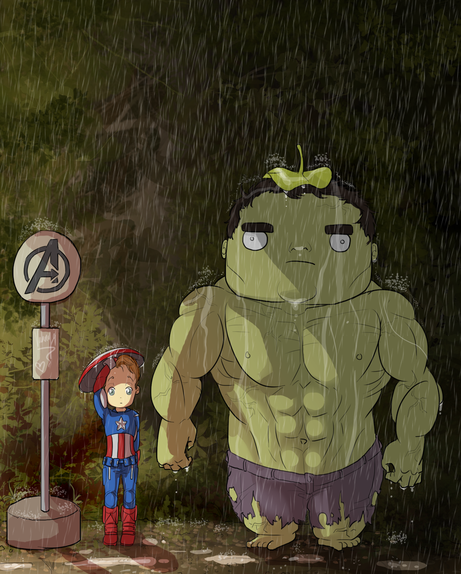 My Neighbour, Hulk by Samoubica