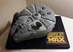 LEGO Star Wars Millennuim Falcon Birthday Cake