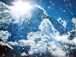 Sun Behind The Mountain