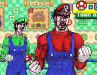 Fist of the Plumbers by perapera