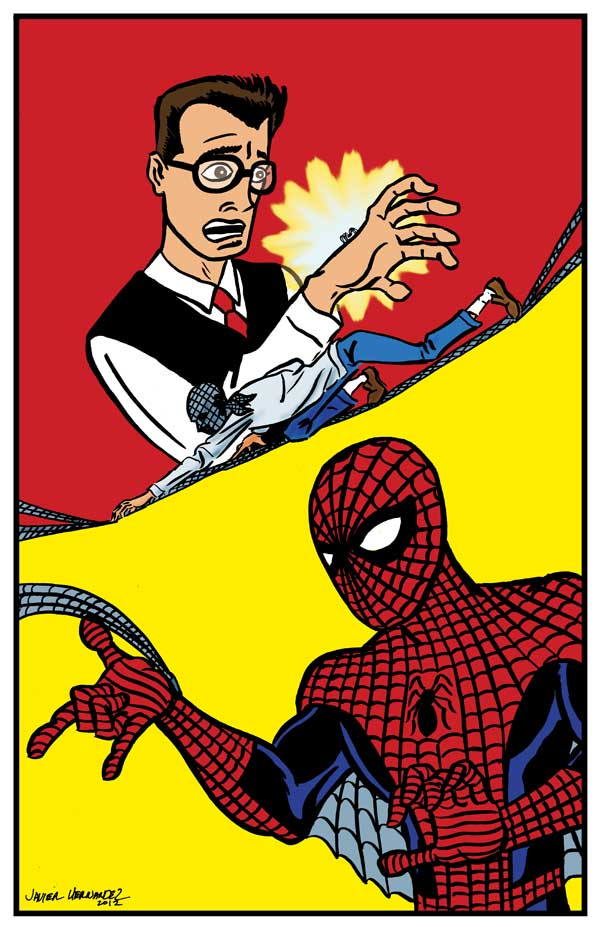 Amazing spider man cartoon peter parker - photo#20