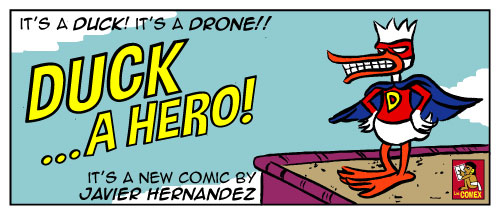 DUCK...A hero!!! by javierhernandez