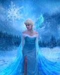 Queen Elsa - Cosplay