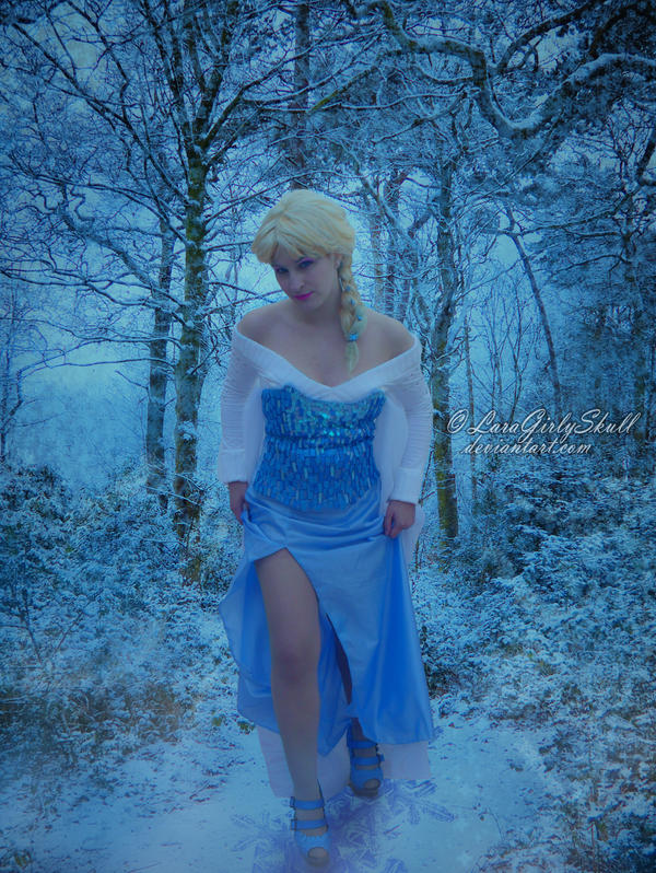The Cold Never Bothered Me Anyway by LaraGirlySkull