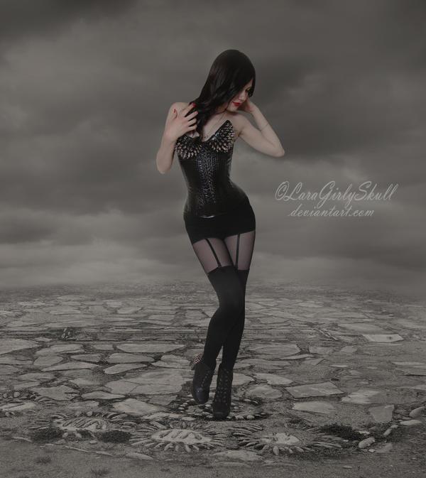 Nothingness by LaraGirlySkull