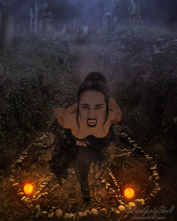 Creature of the night by LaraGirlySkull