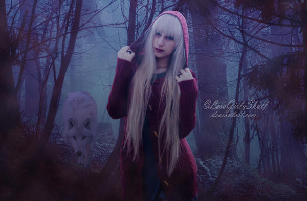 Little Red Riding Hood by LaraGirlySkull