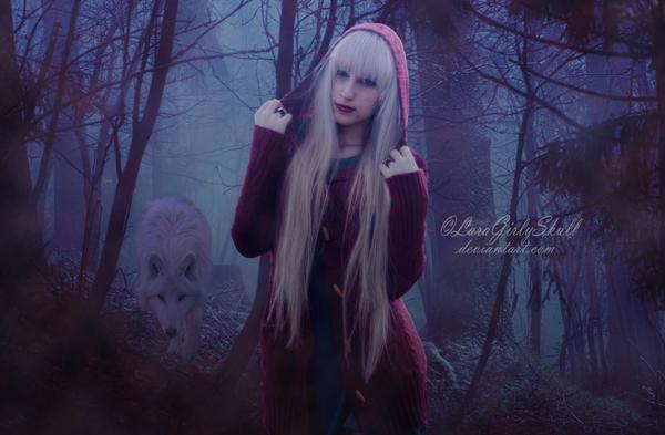 Little Red Riding Hood by LaraGirlySkull