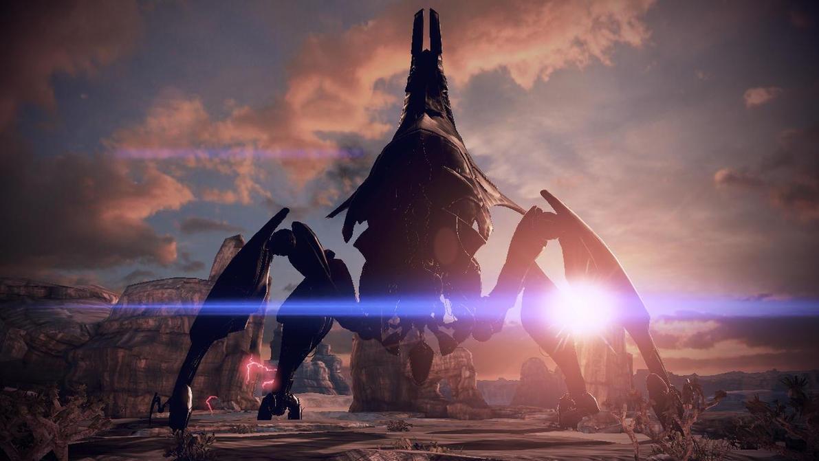 ME3 FlyCam: Reaper on Rannoch by 1nfiltrait0rN7