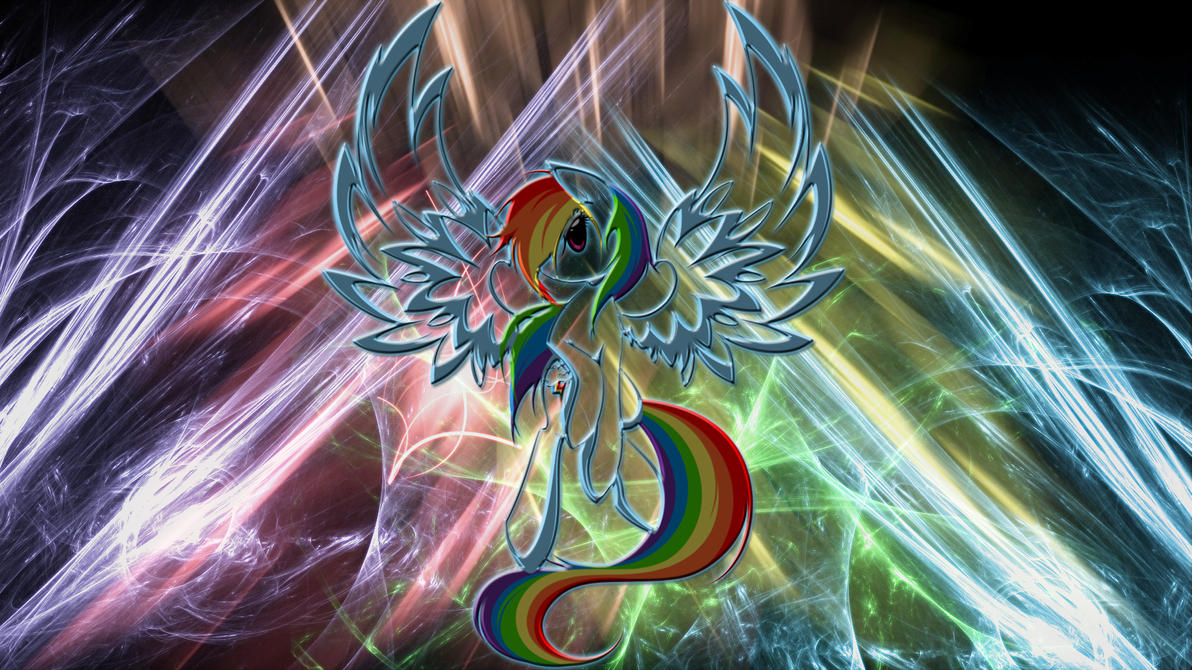 Rainbow Dash Resurrection Wallpaper by 1nfiltrait0rN7