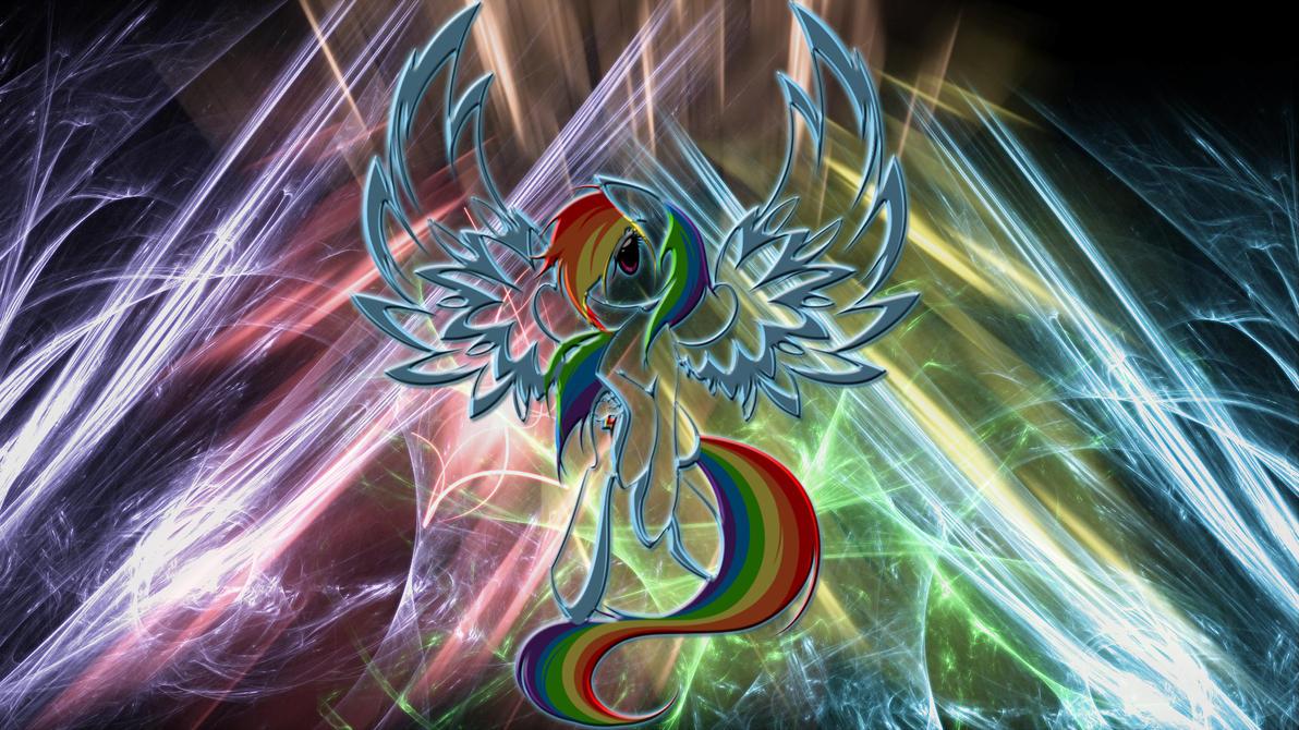 Rainbow Dash Resurrection Wallpaper by 1nfiltrait0rN7 on DeviantArt