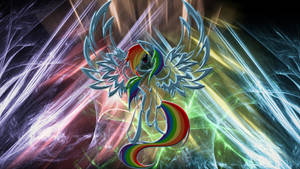Rainbow Dash Resurrection Wallpaper by 1nfiltrait0rN7