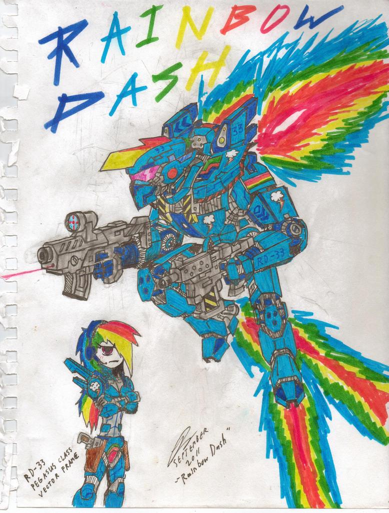 Rainbow Dash by CommanderCanteets