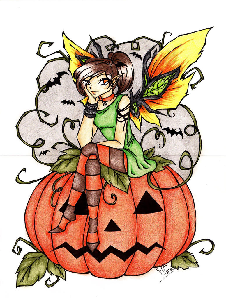Halloween Fairy by DarkSpirit16 on DeviantArt