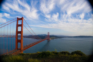 the golden gate by Ingvill