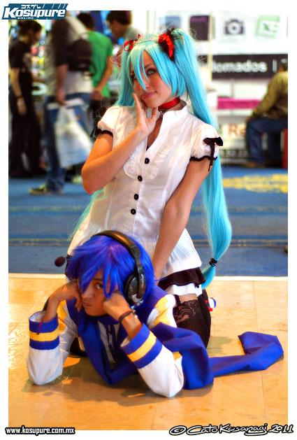 Miku And Kaito by RinaMx