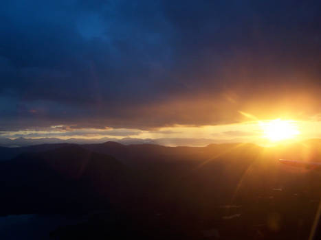 Alaskan Sunset 2