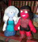 Sapphire and Ruby from Steven Universe