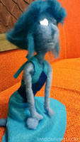 Mirror Eyed Lapis Lazuli Doll - Remake pose 2 by feltgood