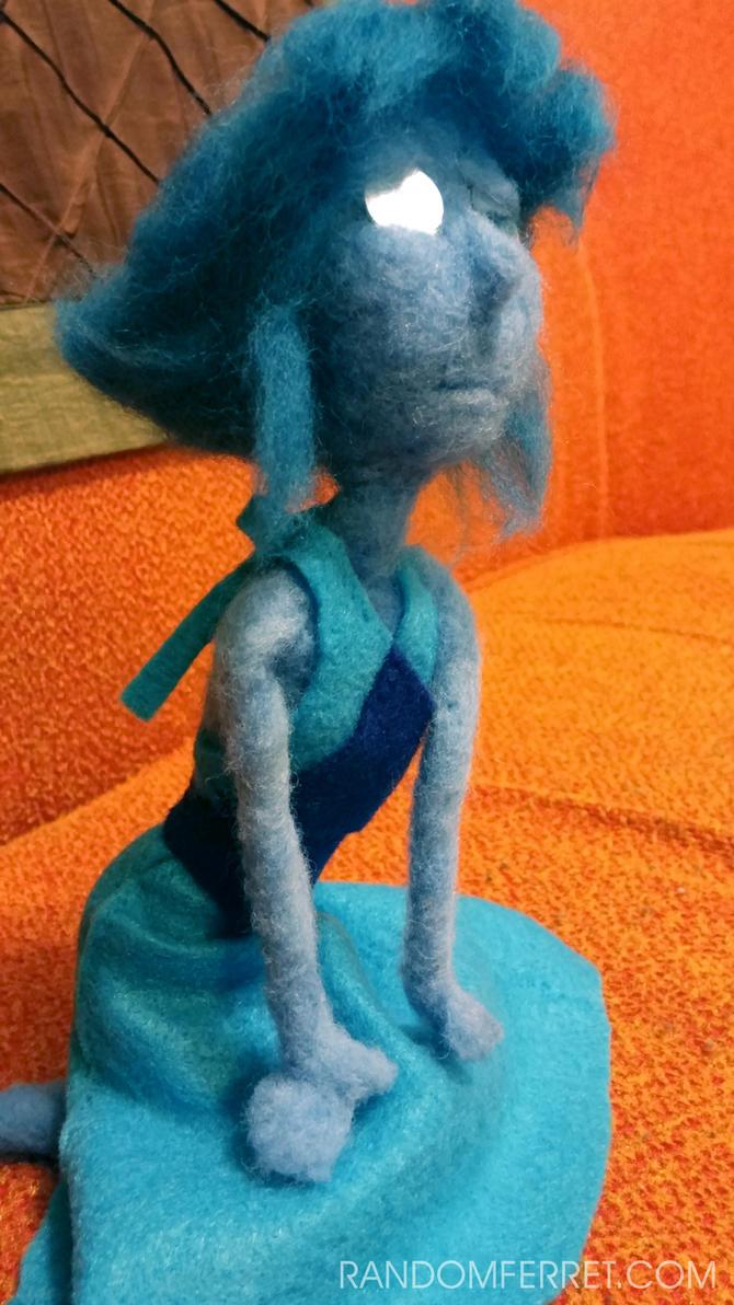 Mirror Eyed Lapis Lazuli Doll - Remake pose 2 by feltgood