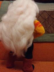 Plush Jasper's hair by feltgood